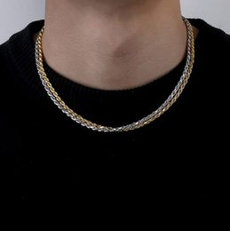 $enCountryForm.capitalKeyWord Australia - 3mm 18inch 22inch 925 Sterling Silver Rope Chain Men Women 18K Gold Silver Plated Chain Necklace Jewelry Necklace DIY accessories