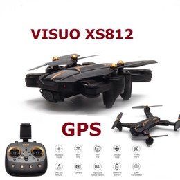 $enCountryForm.capitalKeyWord NZ - wholesale XS812 GPS RC Drone with 2MP 5MP HD Camera 5G WIFI FPV Altitude Hold Drones One Key Return Quadcopter Remote control toy
