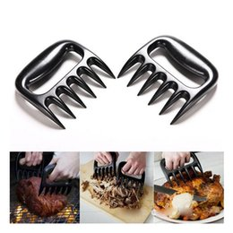 cooking pan wholesalers Australia - Ttlife 1pc Bear Claws Barbecue Manual Pull Meat Shred Pork Clamp Roasting Fork Kitchen Bbq Tools C19041501