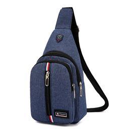 7079e2c8ee6c Oxford Brassiere Korean version single shoulder bag for men and women  Outdoor sports inclined straddle bag Short-distance travel bag Portabl