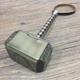 role play toys UK - 1:1 Thor's Hammer 44cm 20cm Cosplay Thor Thunder Hammer Weapons Model Figure Kids Gift Movie Role Playing Safety PU metal Toy