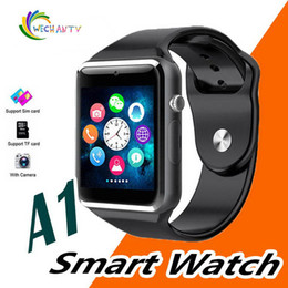 $enCountryForm.capitalKeyWord Australia - A1 smartwatch Smart Watches Low Price Bluetooth Wearable Men Women Smart Watch Mobile with Camera for Android Smartphone Smartwatch