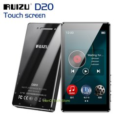 Voice Music Speakers Australia - New RUIZU D20 Full Touch Screen MP3 Player 8GB Music Player Support FM Radio Recording Video With Built-in Speaker