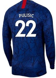 Custom sports jerseys online shopping - Customized Long Sleeve PULISIC Thai Quality sports jerseys Custom MARCOS A Kanté Willian LOFTUS CHEEK BAKlEY Jerseys