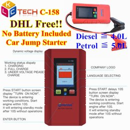 $enCountryForm.capitalKeyWord NZ - DHL Fast 5PCS C158 Car jump starter Great Discharge Rate Diesel Petrol 12V Car Battery Power Bank C-158 For Vehicle