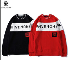 Fighting Australia - GIVENCHY FF66 YSL brand hoodies long sleeves fight color kanye west Men's Hoodies men and women loose couple sweater