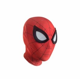 $enCountryForm.capitalKeyWord Australia - Avengers Infinity War Iron Spider Man Mask Superhero Homecoming Spiderman Cosplay Costume Halloween Helmet for Adult Kids