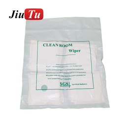lcd cloth UK - Cleaning Room Cloth No Dirt Wipe For iPhone Samsung LCD And Touch Screen Glass Refurbish 200pcs Pack
