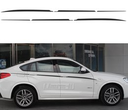 car side graphics 2020 - Car Styling M Performance Accent Stripes Side Stripe Graphics Waistline Vinyl Decals Stickers for BMW X4 M F26