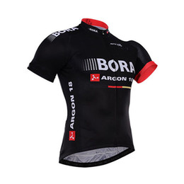 bora jersey 2020 - 2016 BORA ARGON 18 PRO TEAM BLACK ONLY SHORT SLEEVE ROPA CICLISMO SHIRT CYCLING JERSEY CYCLING WEAR SIZE:XS-4XL cheap bo