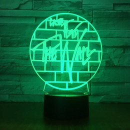 $enCountryForm.capitalKeyWord Australia - Originality Customized Gift Lamp Second Gram Force 3d Colorful Small Night-light Remote Control Discoloration Led Lamp 1568