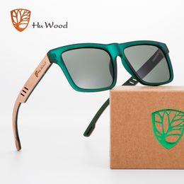 $enCountryForm.capitalKeyWord NZ - Hu Wood 2018 New High Quality Square Sunglasses Men Polarized Uv400 Fashion Sunglass Mirror Sport Sun Glasses Driving Oculos Y19052001