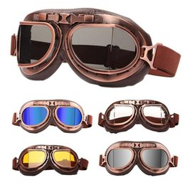 Sand SunglaSSeS online shopping - Retro Motorcycle Goggles Dustproof Sand proof Riding Motorcycle Sunglasses Windproof Glasses Dust Goggles Tactical Glasses Fashion HHA257