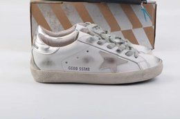 3f1043afe7474 Golden Goose Sneakers Gold Australia - Golden Goose Ggdb old style sneakers  Genuine Leather Villous Dermis