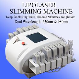 Laser Lipo online shopping - lipo laser mitsubishi diode laser fat belly burning machine laser belly Cellulite Reduce fat loss machine