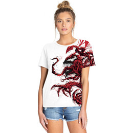 Discount t shirt digital printing sport - 2019 new animal digital printing summer women's slim T-shirt street hipster sports couple shirt women's T-shir