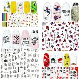 3d Adhesive Letters Australia - 1 Sheet 3D Lady Fashion Rainbow Russian Letter Huawei Logo Adhesive Nail Art Stickers Decorations Manicure Design F#