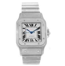 Chinese  Luxury watch W20098D6 automatic mechanical Mens Watch Two Tone Silver Case 316L Steel Band Cheap New Gents Wristwatches 45 X 34 mm manufacturers