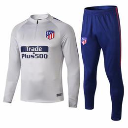 Gore Tex Xcr Jacket Australia - Atletico tracksuit GRIEZMANN soccer Training suit soccer wear adult F TORRES KOKE 18 19 Madrid football jacket sets chandal