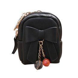 $enCountryForm.capitalKeyWord Australia - Women Wallet Bow Zipper Key Bag Short Vertical Coin Ladies Purse Pu Leather Card Holders Female Travel Bag 2019 Bolsa Feminina