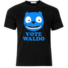 $enCountryForm.capitalKeyWord UK - T-shirt uomo Vote Waldo, BlaRock Mirror inspired, serie tv, nera