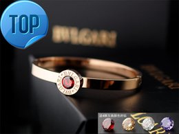 Indian Coral Beads Australia - High Quality Celebrity design Letter Metal Buckle diamond bracelet Fashion Metal Clover Cuff bracelet Jewelry With Box