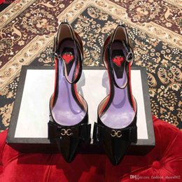 Red Heeled Shoes White Australia - New High Heels White Black And Pink And Red Shoes High-end Atmosphere, Fashion And Stable Leather Women's Shoes