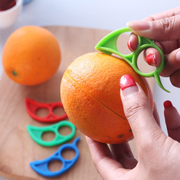 $enCountryForm.capitalKeyWord NZ - Orange Citrus Peelers Cosmer Colorful Plastic Easy Slicer Cutter Peeler Remover Opener