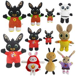 Cotton doll making online shopping - 25cm bing Bunny plush toys cute styles rabbit dolls soldier pp cotton stuffed animals plush toys cartoon doll Christmas gift