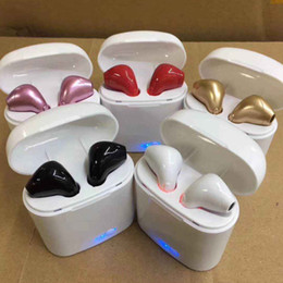 New aNdroid online shopping - NEW I7S TWS Wireless Bluetooth Earbuds Twins Headphones Headset with Charger Box for Iphone X Plus Android Samsung Sony Earphones