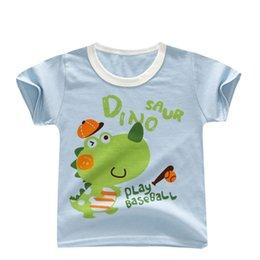 43dd701a2 Buena calidad para bebés niños verano camiseta de algodón de manga corta ropa  para algodón infantil superior estilo casual camisetas recién nacidos bebe  ...