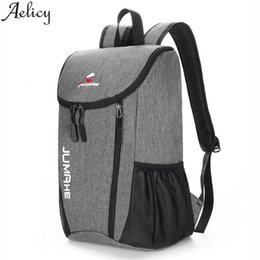 clear color backpack Australia - Aelicy Women Backpack Waterproof Large Capacity Solid Color Waterproof Casual Backpack School Bag Outdoor Leisure Backpacks