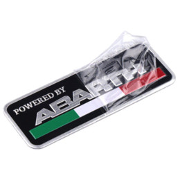 China 3D 3M Car Abarth aluminum Adhesive Badge Emblem logo Decal Sticker Scorpion For All Fiat Abarth Punto 124 125 500 Car Styling suppliers