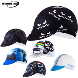 mtb helmet blue green UK - Weimostar Pro Team Cycling Caps Men Women Breathable Sport Skull Bike Cap bandana ciclismo Sun UV Helmet Hat MTB Bicycle Cap