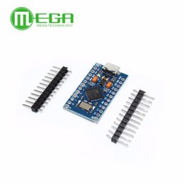 $enCountryForm.capitalKeyWord NZ - Freeshipping 5pcs lot Pro Micro ATmega32U4 5V 16MHz Module with 2 row pin header