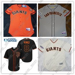 customize baseball 2019 - 100% embroidery Custom Hunter Pence 2014 World jerseys Stitched Retro Mens jerseys Customize any name number XS-5XL NCAA