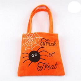 $enCountryForm.capitalKeyWord Australia - Halloween Pumpkin Witch Sugar Bag Children 's Party Storage Bag Halloween Party decorations Packaging kids Candy  C