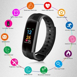 gps ratings Australia - CD02 Smart Bracelet GPS Heart Rate Monitor Fitness Tracker Smart Watch IP67 Waterproof Passometer Camera Smart Wristwatch For iPhone Android
