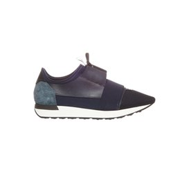 Discount leather racing shoes - Designer Sneakers Race Runners Fashion Casual Shoes Trainer Women Men Designer Breathable Mesh Shoes With Box