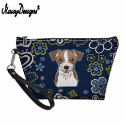 Cute Cosmetics Bag Australia - NOISYDESIGNS Mini Cosmetic Bag Women Cute Puppy Avatar Printing Makeup Bag Pouch For Travel Girls Ladies Storage Dropshipping
