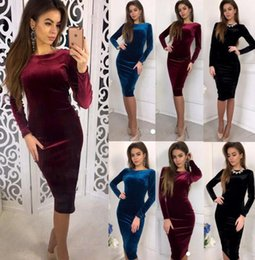 c6f76ea6320 Dolman sleeve cocktail Dress online shopping - Women Outdoor Dress Lady  Slim Elastic Skirt Women Party