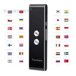 Mobiler intelligenter Sprachübersetzer In zwei Richtungen in Echtzeit 39 Mehrsprachige Übersetzung zum Lernen von Geschäftsmeetings auf Reisen im Angebot