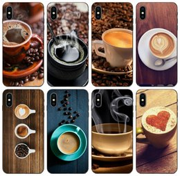 samsung prime soft case NZ - [TongTrade] Coffee Cup Coffee Beans Case For iPhone 11 Pro X XS Max 8 7 6s 6p 5s 5p Samsung A7 Huawei P20 P30 Y7 Prime LG K10 Soft TPU Case