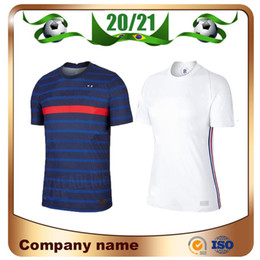 france away soccer jersey NZ - 20 21 Euro France 2 stars #10 MBAPPE Soccer Jersey 2020 home #7 GRIEZMANN POGBA Away white Soccer Shirt 13 KANTE football Uniform