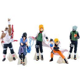 cool new toys for kids 2019 - New Arrive 5 Pcs  Set Naruto Action Figure Classic Toys Cool Naruto Kakashi Sasuke Uzumaki Figure Anime Model For Baby K