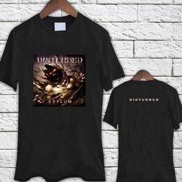 $enCountryForm.capitalKeyWord Australia - DISTURBED Asylum Heavy Metal Band Black TShirt Tee Shirt Men Women Unisex Fashion tshirt Free Shipping