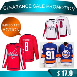 e57e205e1 capital jerseys 2019 - Clearance Washington Capitals 8 Alex Ovechkin 91  Tavares jerseys New York Islanders