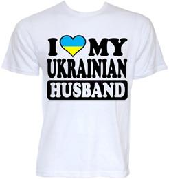 cool novelty gifts 2019 - MENS FUNNY COOL NOVELTY UKRAINIAN HUSBAND UKRAINE FLAG JOKE RUDE GIFTS T-SHIRTS Stranger Things Design T Shirt 2019 New