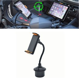 Discount cell phone neck holder - CARPRIE Mounts & Holder 2019 NEW hot sale Car Cell Phone Cup Holder Mount with Flexible Long Neck for iPhone GPS Wide di