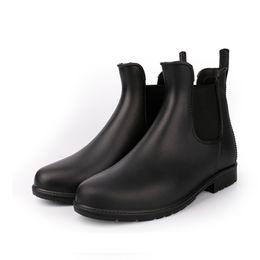 $enCountryForm.capitalKeyWord Canada - Ladies Pvc Ankle Rain Boots Big Size 43 Female Waterproof Fashion Brand Rubber Women Water Shoes Woman Rainboots Hot Sale